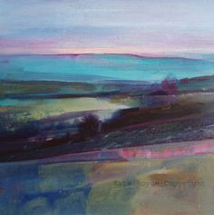 Light Through the Mist, Calder Valley by Kate Boyce