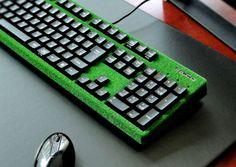 Midori keyboard with grass by FILCO