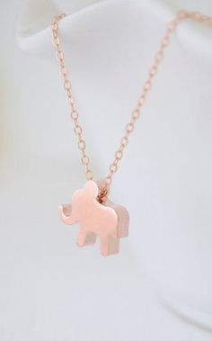 My two loves of Rose Gold and  Elephants makes the perfect combo! #MallyTrends