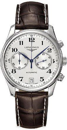 Longines Master Collection Automatic Chronograph Steel Mens Watch Calendar L2.669.4.78.5
