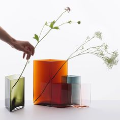 Maison Objet Ruutu vases by Broullec Brothers