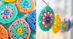 Go Crochet! Crochet Circle Pattern, Crochet Circles, Crochet Patterns, Sewing Blogs, Crochet Books, Doilies, Crochet Earrings, Wool, Yarns