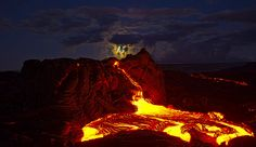 Photographer Ventures to Volcanos and Lava Flows in Hawaii