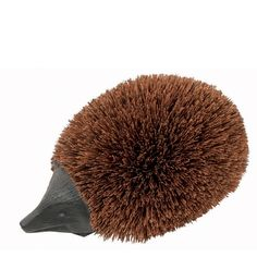 Perigot Doormat - Black Wood Hedgehog - While most people have a loyal dog to welcome them home after a hard day at work or when they've been out visiting relatives and friends, some people have a hedgehog...the Perigot Doormat Hedgehog to be exact.
