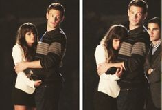 """Lea and Cory filming for """"The Break Up"""""""