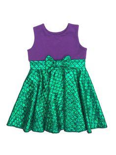 Mermaid Dress Character Inspired Dress Green by TheGypsyGeek