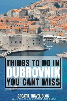 Here is a list of things to do in Dubrovnik that you can't miss. Click here to find them all..