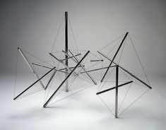 Kenneth Snelson | Mozart I, 1981-1982