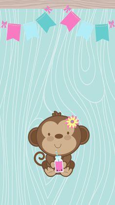 Wallpaper IphoneWallpaper BackgroundsPhone WallpapersCute Monkey