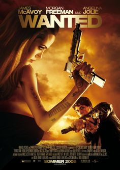 Wanted+2008+Film | Wanted (2008) poster