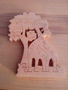 Holz Puzzle Holz Giraffe Ostern Puzzle Spielzeug Holz