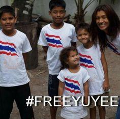 LLamaremos a todas las puertas posibles !!!! No la dejaremos sola @CasaReal #FREEYUYEE #EAD240