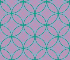 Spring 2013 fashion forward colors highlighted in this design of circles within circles.  Simple and sophisticated.  Can be created in any scale or colors.