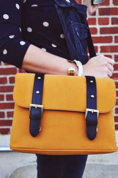 love it - DITK......Mustard Camera Bag from Sister Style : A Beautiful Mess