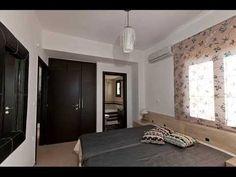 για μια σωστη ανακαίνιση σαλονιού και κρεβατοκάμαρας χρειαζονται και τα κατάλληλα πλακακια.. Decor, Furniture, Home, Oversized Mirror, Curtains, Bed, Mirror