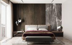 Room Design Bedroom, Home Room Design, Modern Bedroom, Master Bedroom, Making A Bed Frame, Diy Bed Frame, Adobe Photoshop, Design Projects, Wood Projects