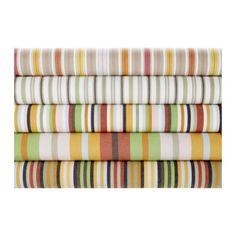 ELISABET Fabric, multicolor, beige $9.99 / metre