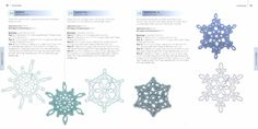 100 sneeuwvlokken om te haken / Caitlin Sainio / 978-90-8998-260-5 | LIBRERO.NL Crochet Tree, Crochet World, Crochet Flowers, Crochet Snowflakes, Santa, Map, Christmas, Frozen, Trees