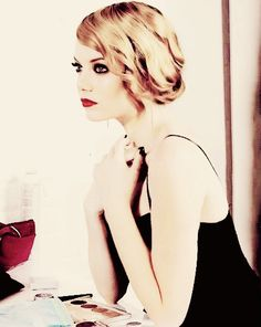 #faux #bob on Emma Stone