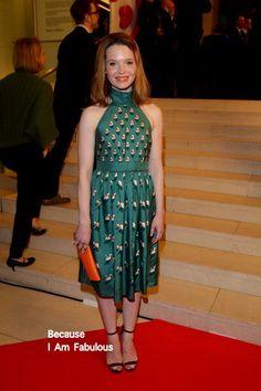 Fabulously Spotted: Karoline Herfurth Wearing Gucci - 12th Deutscher Hoerfilmpreis - http://www.becauseiamfabulous.com/2014/03/karoline-herfurth-wearing-gucci-12th-deutscher-hoerfilmpreis/