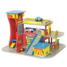 spielzeug parkgarage holz d toy spielzeug kinderzimmer pinterest spielzeug holz und. Black Bedroom Furniture Sets. Home Design Ideas