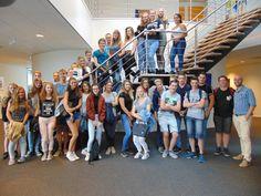 Vanochtend bezoek gehad van de RGO Middelharnis-atheneum 5. Leerlingen en leraren, hartelijk dank voor jullie interesse en aanwezigheid!