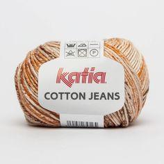 Katia Cotton Jeans tonos naranjas