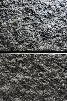 Béton matricé texture pierre