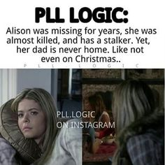 Parenting With Love And Logic Pretty Little Liars Meme, Preety Little Liars, Pll Memes, Funny Memes, Pll Logic, Love And Logic, I'm Still Here, Best Shows Ever, Funny