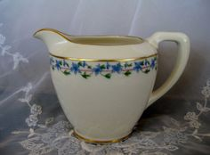 Antique Lenox Caprice Creamer Near Mint condition by ChinaGalore