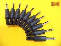 Kit 10 Plugs P10 Mono - R$ 19,99 no MercadoLivre
