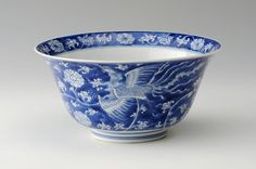 A Chinese blue and white Bowl. Kangxi, 1662-1722. Photo courtesy Sworders