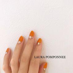 LAURA POMPONNEE 表参道さんはInstagramを利用しています:「2018.12.23 . . ちゅるちゅるオレンジ×ぱっつんミラー🧡 . 【🎅🏻12/24限定クーポン🤶🏻】 ホットペッパーにて、ご新規様と3ヶ月以上ご来店されていない お客様を対象に12/24当日限定クーポンを配信しております⛄️❄️ . ⭐️ワンカラー×ミラー…」 Mexican Nails, Beauty Nails, Pretty Nails, Nail Colors, Nail Designs, Instagram, Style, Fashion, Nail Manicure