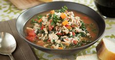Turkey & Kale Soup http://www.chefd.com/collections/all/products/turkey-and-kale-soup