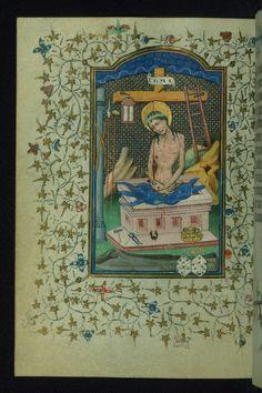 Book of Hours of Daniel Rym, Man of Sorrows, Walters Manus… | Flickr