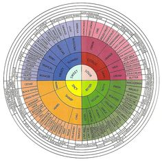 Flavor wheel (source: GreenHouse Seeds Co.)