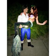 { why eric, run away with you? this is all so ... so sudden } Ariel and Eric