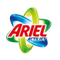 Ariel Laundry Detergent and Fabric Care Products Packaging Design, Branding Design, Logo Design, Box Packaging, Graphic Design, Ariel Logo, Word Mark Logo, Logos Cards, Party Packs