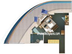 Premium Balcony diagram