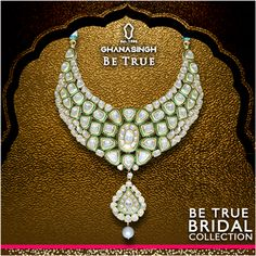The newly unveiled 'Be True Bridal Collection', has been handcrafted with the Indian #BeTrueBride of today in mind. #BeTrue #BeTrue #BridalJewellery #BridalFashion