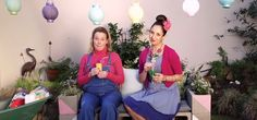 Marianne and Suzelle in a new episode of Suzelle DIY. (Screengrab: Suzelle DIY/YouTube)