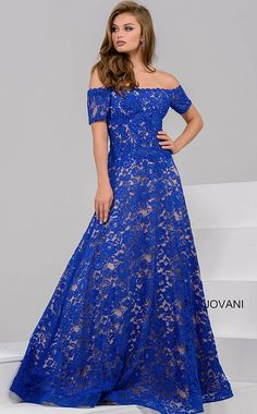 Jovani 42828 Off the shoulder lace ballgown. - Evening Dresses - Jovani 42828 Off the shoulder lace ballgown. - Long Dresses - Jovani 42828 Off the shoulder lace ballgown. - Jovani - Jovani 42828 Off the shoulder lace ballgown. Evening Gowns With Sleeves, A Line Evening Dress, Lace Evening Gowns, Lace Ball Gowns, Evening Dresses For Weddings, Ball Dresses, Prom Dresses, Bride Dresses, Long Dresses