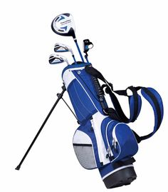 c7a37696cef Buy the PowerBilt Golf Junior Blue Series Golf Club Set and more quality  Fishing