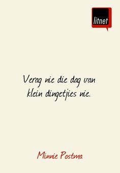 Minnie Postma #afrikaans #skrywers #nederlands #segoed #dutch #suidafrika #litnet #skryf