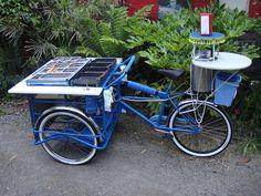 Taco Bike, created by Todd Barricklow, San Francisco  http://californiatacotrucks.com/blog/