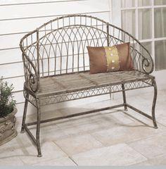 "Rose Garden Bench--40"" x 17"" x 35"""