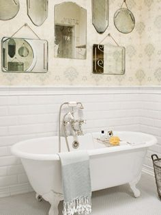 White Bathrooms - Decorating Ideas for White Bathrooms - Country Living