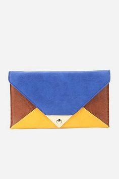 color-block clutch | colorblock clutch