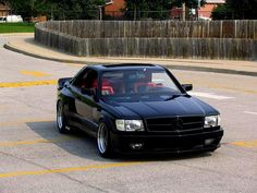 Mercedes 560SEC. The best car Mercedes ever built if you ask me.