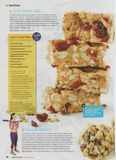 Lean Cereal Bars recipe